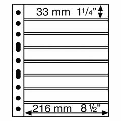 GRANDE listy - GRANDE 8 S - na poštové známky - 329179