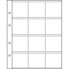 Náhradné listy na kartónové rámčeky NUMIS K50 (NH12K) - 310 444