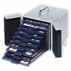 CARGO S 10 - Hliníkový kufor na mincové boxy SMART