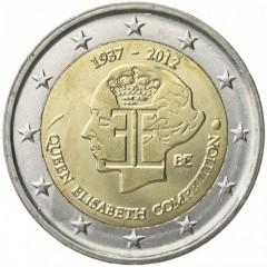 Belgicko - 2 Euro - 2012 - kráľovná Alžbeta
