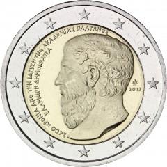 Grécko - 2 Euro 2013 - Platón