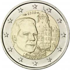 Luxembursko - 2 Euro 2008 -Château de Berg