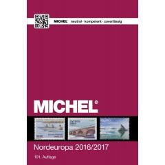 Katalóg známok MICHEL - Európa 5 - Severná Európa - katalóg 2016/2017