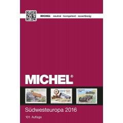 Katalóg známok MICHEL - Európa 2 - Juhozápadná Európa - katalóg 2016