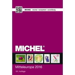 Katalóg známok MICHEL - Európa 1 - Stredná Európa - katalóg 2016