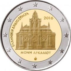 Grécko - 2 Euro - 2016 - Kláštor Arkadi