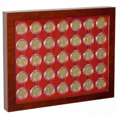 Vitrína na mince LOUVRE - CAPS 26 - Na 2 Euro mince - 321106