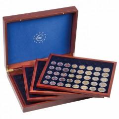 Kazeta VOLTERRA QUATTRO de Luxe na 24 setov euromincí