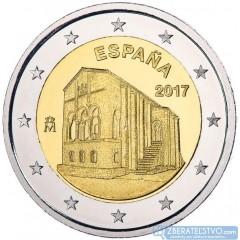 Španielsko - 2 Euro 2017 - Pamiatky Ovieda a kráľovstva Astúrie