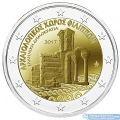 Grécko - 2 Euro 2017 - Archeologické miesto Philippi