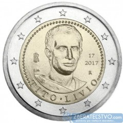 Taliansko 2 Euro 2017 - Tito Livio