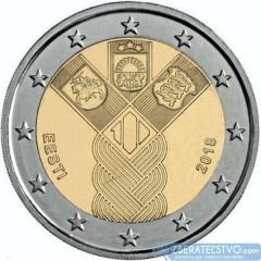 Estónsko - 2 Euro 2018 - 100 rokov nezávislosti pobaltských krajín - predpredaj