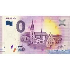 0 Euro Souvenir Slovensko 2018 Bardejov