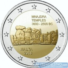 Malta - 2 Euro 2018 - Mnajdra