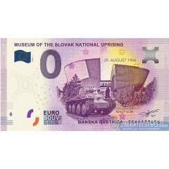 0 Euro Souvenir Slovensko EEAA -2018-1 - Múzeum SNP v Banskej Bystrici