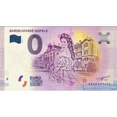 0 Euro Souvenir Slovensko EEAU-2018-1 - Bardejovské kúpele