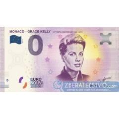 0 Euro Souvenir Monako - UEMA-2018-1 - Grace Kelly