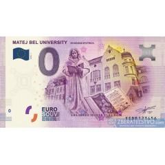 0 Euro Souvenir Slovensko EEBE-2018-1 - Nitra