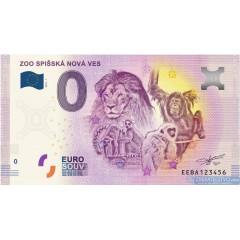 0 Euro Souvenir Slovensko EEBA-2018-1 - ZOO Spišská Nová Ves
