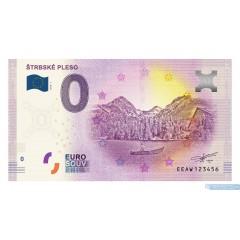 0 Euro Souvenir Slovensko EEAW-2018-1 - Štrbské Pleso