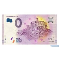 0 Euro Souvenir Slovensko EEAY-2018-1 - Spišský Hrad