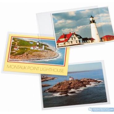 Ochranné obaly na bankovky a nové pohľadnice - 150x107 mm - 50 ks